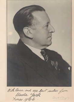 Picture of York Bowen, signed